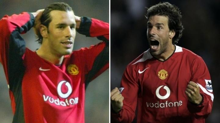 Man United Legend Ruud Van Nistelrooy Names The Toughest Defence He Faced In His Career