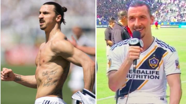 Zlatan Gives The Most Zlatan Interview After Dream Debut