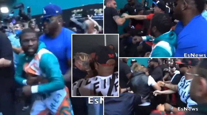 New Angle On Floyd Mayweather Vs Jake Paul Brawl Shows What Really Happened