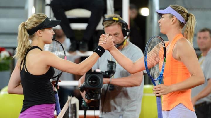 Maria Sharapova Takes Sly Dig At Eugenie Bouchard On Social Media