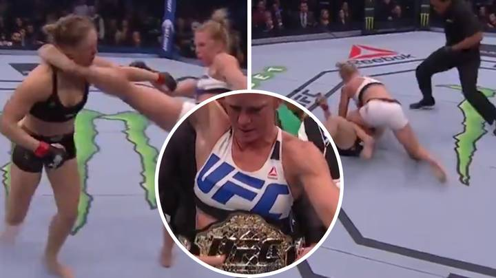 Throwback To When Holly Holm Shocked The World By Beating Ronda Rousey