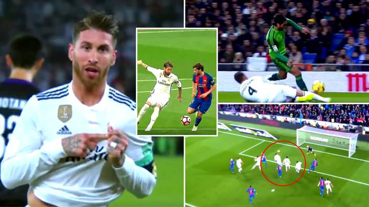 Spine-Tingling 'Thank You Sergio Ramos' Video Proves He's A Generational Defender, Like No Other
