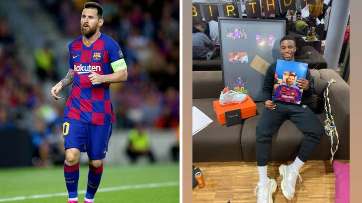 Lionel Messi Sends Borussia Dortmund Prodigy Youssoufa Moukoko A Birthday Present