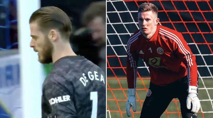 Sheffield United Make Dean Henderson Tweet Following David De Gea's Error