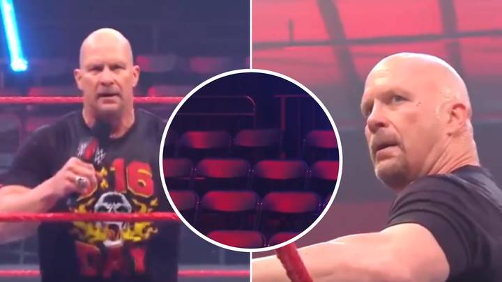 Stone Cold Steve Austin Hilariously Asks For An Empty Arena To Give Him A 'Hell Yeah'