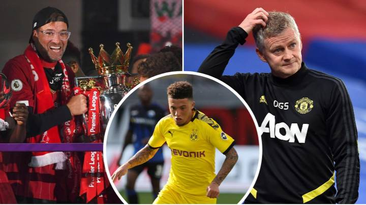 Jadon Sancho Would Rather Join Liverpool Than Manchester United