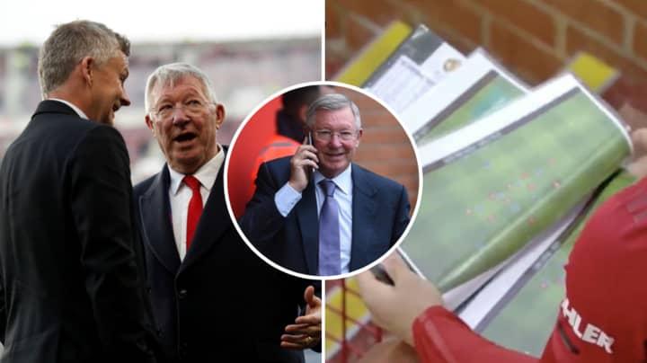 Sir Alex Ferguson's Reaction To Ole Gunnar Solskjaer's First Manchester United XI