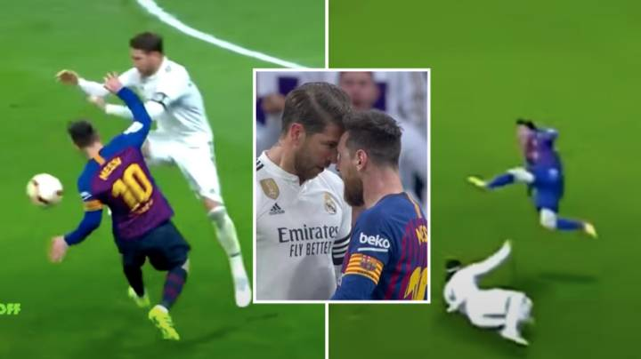 Compilation Of Lionel Messi Vs Sergio Ramos Shows Their Heated Rivalry In El Clasico