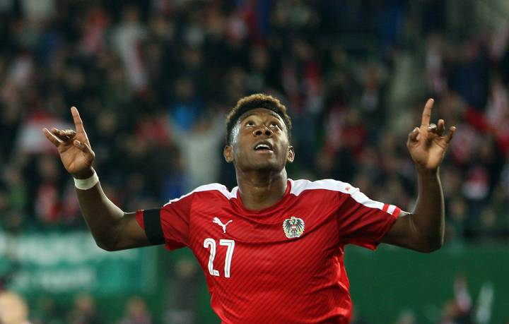 David Alaba Reveals His Footballing Idol