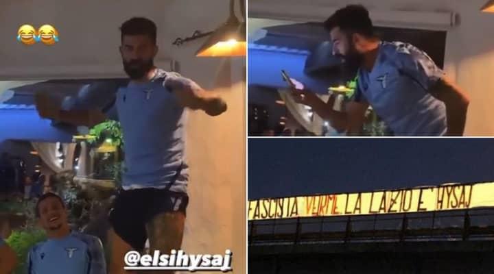 New Lazio Signing Elseid Hysaj Branded A 'Worm' By Club Ultras