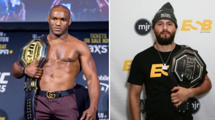 Kamaru Usman Wants BMF Title To Be On The Line Against Jorge Masvidal At UFC 251