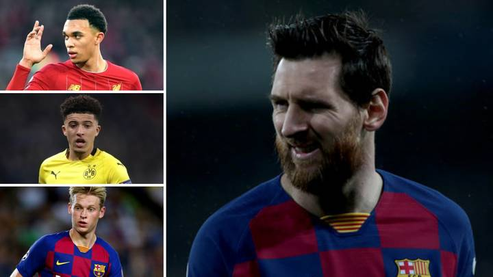 Lionel Messi Reveals Which Four Premier League Players Make His Top 15 Young Prospects In Football