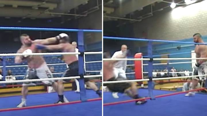 Footage Of Eddie Hall In A Charity Boxing Fight Emerges