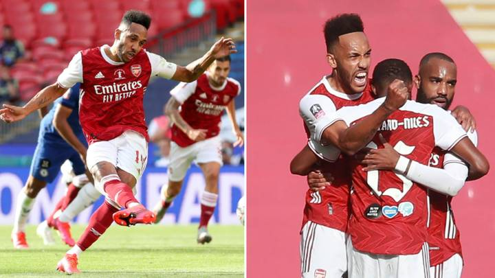 Arsenal Win The FA Cup Final Against Chelsea