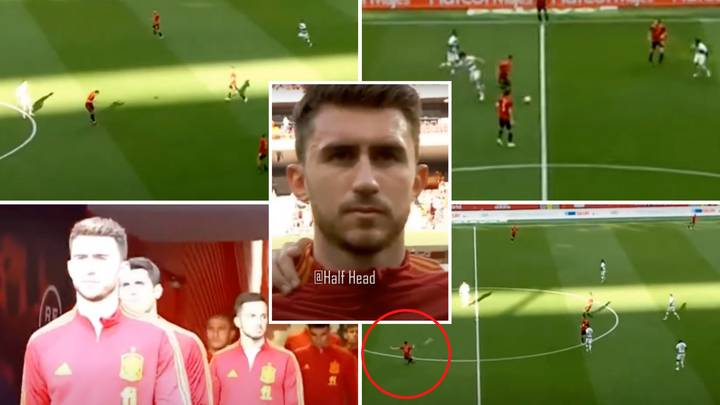 Aymeric Laporte Compilation On Spain Debut Showed How He Stepped Up In Sergio Ramos' Absence