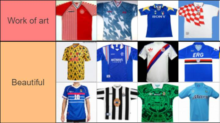 Football Kits Ranked 'Work Of Art' To 'Burn It'