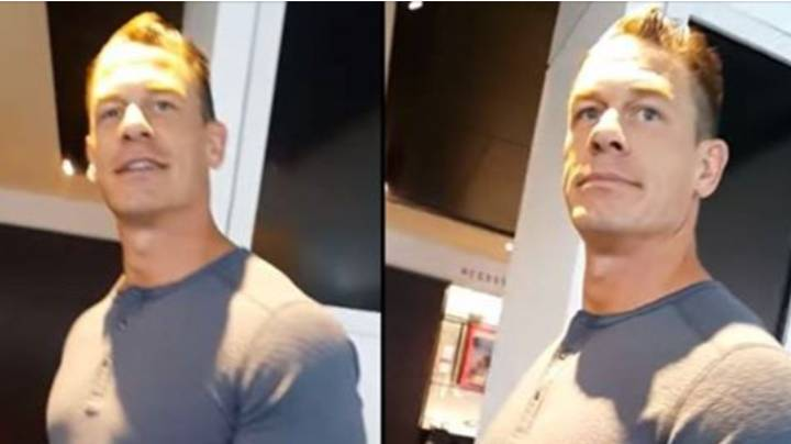 WWE Legend John Cena Confronts YouTuber For Filming Him In London Store