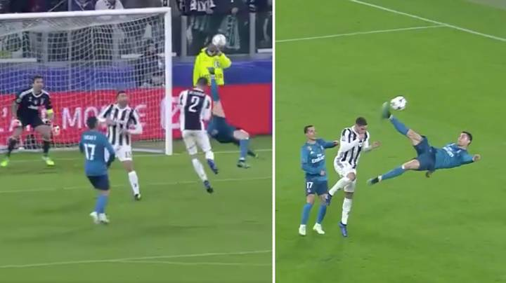 Watch: Cristiano Ronaldo Has Just Scored A Truly Ridiculous Overhead Kick
