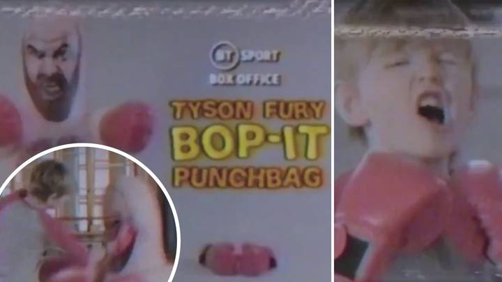 The Tyson Fury Bop-It Punchbag Commercial Gives Off Incredible '1990s Vibes'