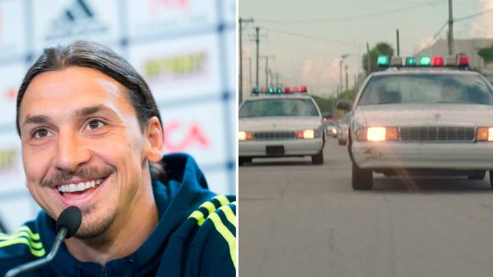 Zlatan Ibrahimovic's Incredible Story Of When The Police Were Chasing Him