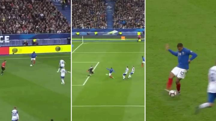 Kylian Mbappe Set Up Two Goals And Scored For France In Stunning Individual Performance
