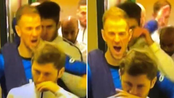 Joe Hart Really Psyched Himself Up Ahead Of Marine Game