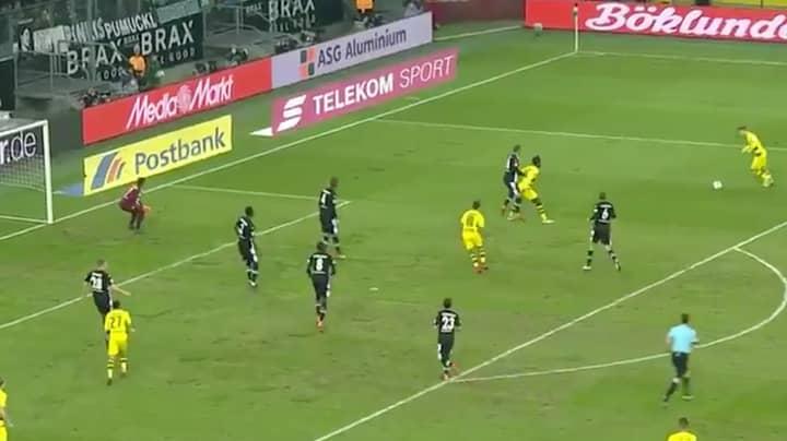 Watch: Marco Reus Scores Wonder Goal Against Gladbach