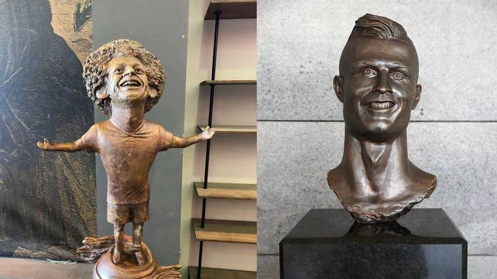 Mohamed Salah Is The Latest Victim Of A Bad Statue