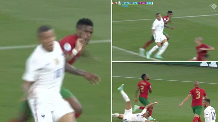 France Awarded Incredibly Controversial Penalty Decision Against Portugal In Euro 2020 Clash