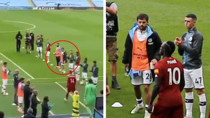 Bernardo Silva Refused To Clap Liverpool Players During Awkward 'Guard Of Honour'
