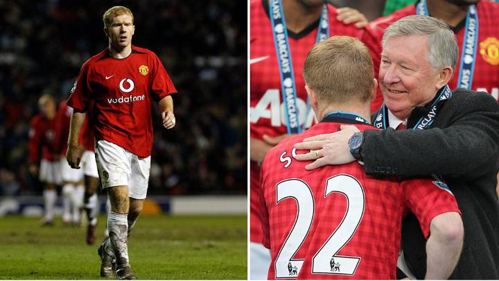 The Premier League Player Sir Alex Ferguson Saw As Paul Scholes' Successor