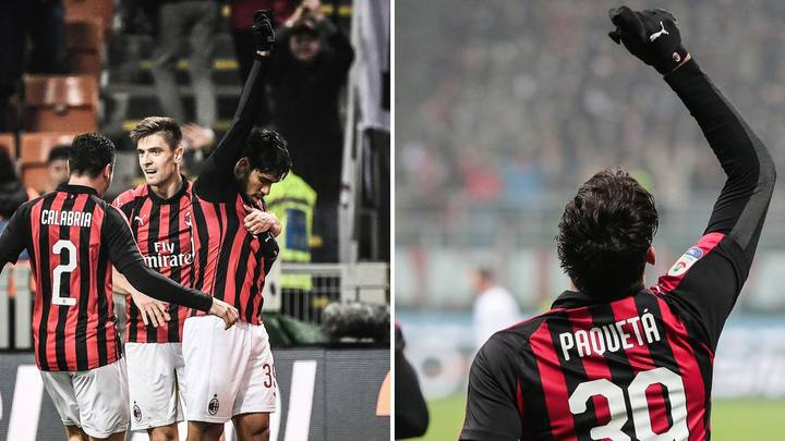 Lucas Paquetá Scores His First Goal For AC Milan And Dedicates The Moment To Flamengo
