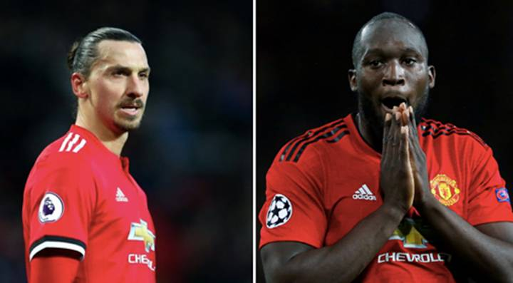 Zlatan Reveals He Made A Bet With Romelu Lukaku About His First Touch While At Man Utd
