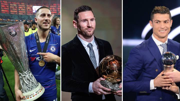 Eden Hazard Said He Would Never Be On Lionel Messi's Level But Could Be Better Than Cristiano Ronaldo