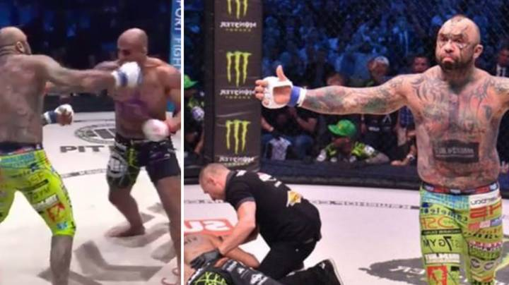 WATCH: Heavyweight Title Over After 16 Seconds After Insane Faceplant Knockout