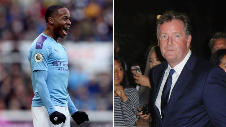 Raheem Sterling Trolls Piers Morgan On Fifth Anniversary Of Signing For Manchester City