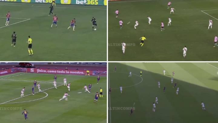Compilation Of Lionel Messi's 'Pre-Assists' This Season Dispels Myth His Levels Have Dropped