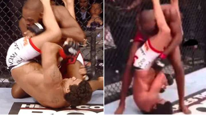 When Jon Jones Somehow Survived The Most Brutal Armbar In UFC History