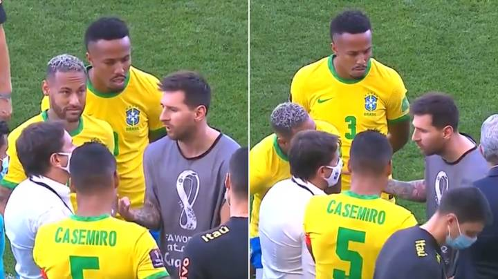 Lionel Messi's Heated Conversation With Brazil Health Official Revealed, He Made A Great Point