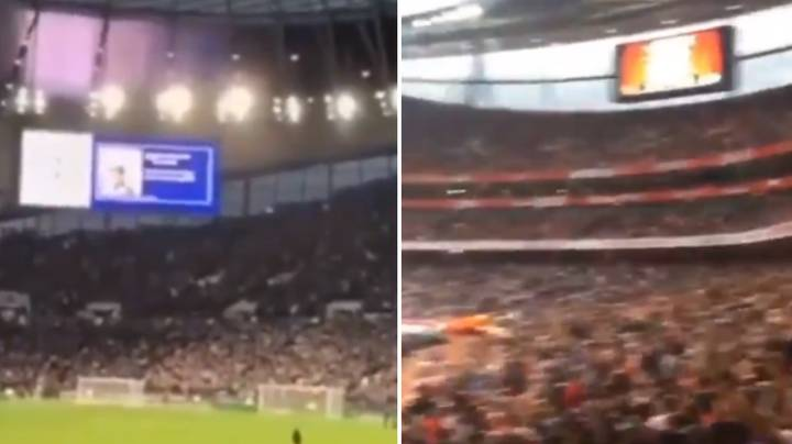 Fans Video Shows Difference In Atmospheres At Spurs And Arsenal