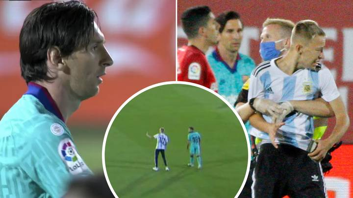 Pitch Invader Who Took Selfie With Lionel Messi Forced To Delete It By Police
