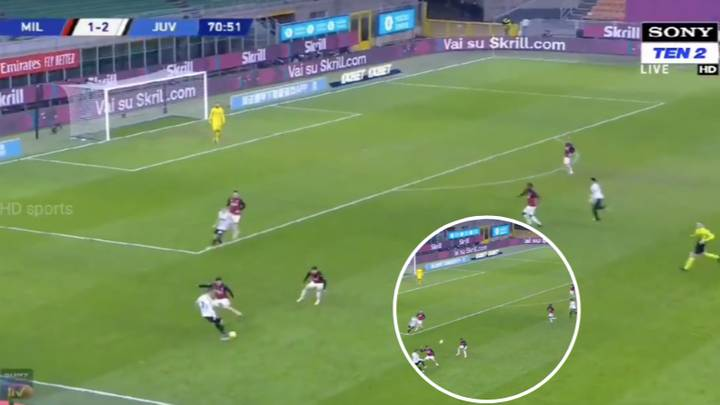 Cristiano Ronaldo Showed His Playmaking Abilities Are Slept On With Superb Moment Against AC Milan