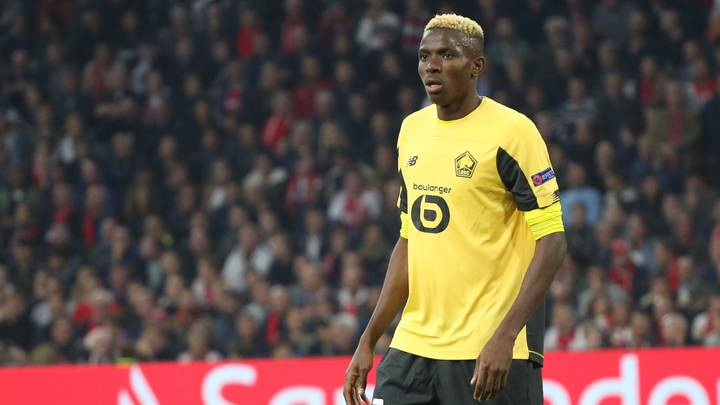 Victor Osimhen Becomes The Most Expensive African Player Ever After Napoli Move