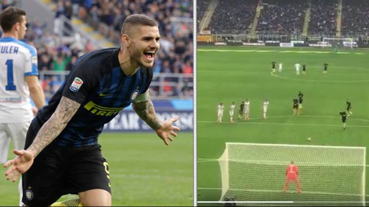 WATCH: Mauro Icardi Scores Perfect Hat-Trick In Nine Minutes