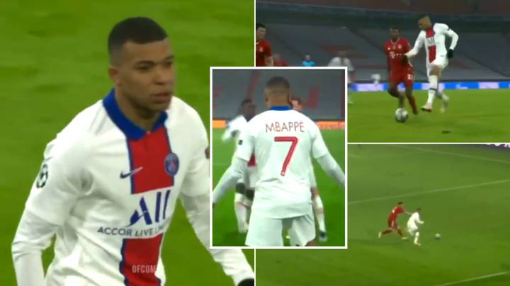 Stunning Compilation Of Kylian Mbappe's Performance Vs. Bayern Munich Shows He's A Generational Talent