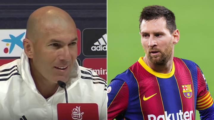 Zinedine Zidane Gives His Honest Take On Lionel Messi Potentially Playing In His Last El Clasico