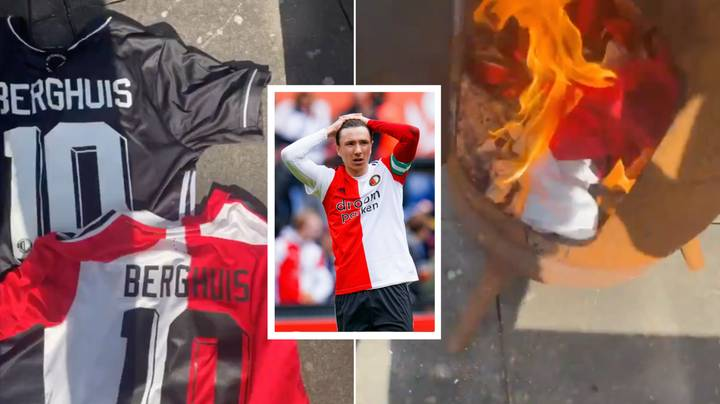 Feyenoord Captain Steven Berghuis Joins Rivals Ajax In Most Controversial Transfer In Eredivisie History