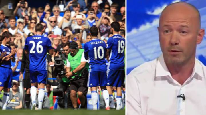 Alan Shearer Perfectly Sums Up John Terry's 26th Minute Guard Of Honour