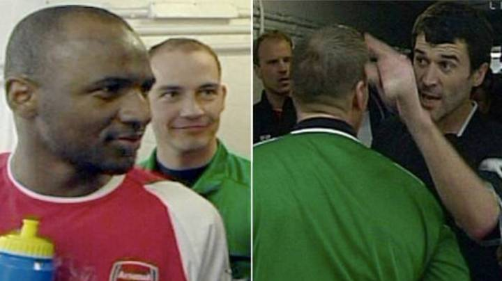 The Truth Behind Roy Keane And Patrick Vieira's Infamous Tunnel Bust-Up In 2005