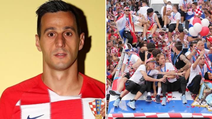 Croatia Striker Nikola Kalinic Turns Down His World Cup Medal
